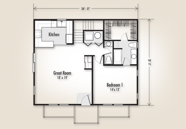1291 Plan Homes Adair Homes