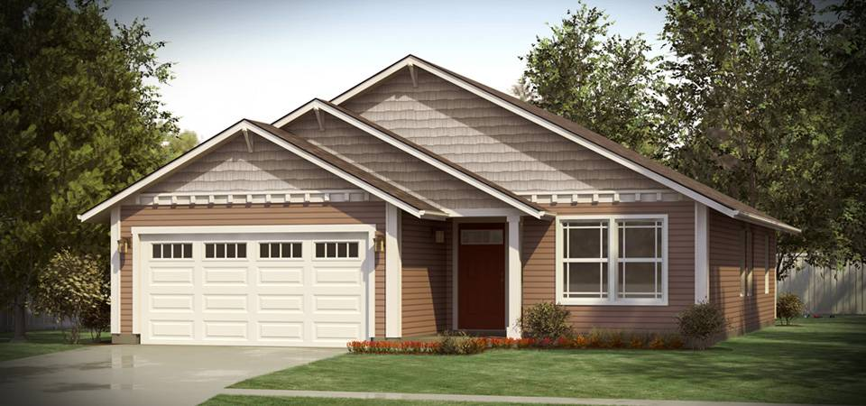 The arcadia east 1405 home plan adair homes for Adair home plans
