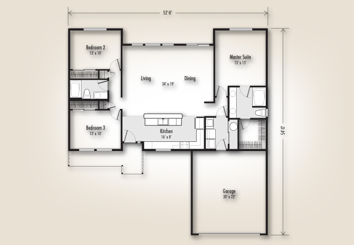 The Winchester 1560 Home Plan Adair Homes