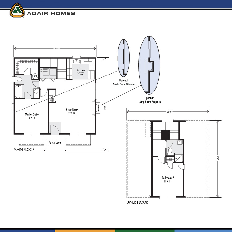 Adair homes the cottonwood 1094 home plan for Adair home plans