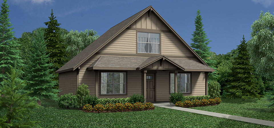 Adair homes the rhododendron 1291 home plan for Adair home plans