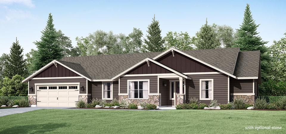 Adair homes the oswego 1952 home plan for Adair home plans