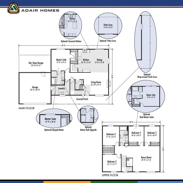 Adair Homes The Creston 2512 Home Plan