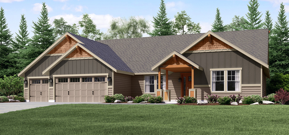 Montana style house plans house design plans for Home designs under 150k
