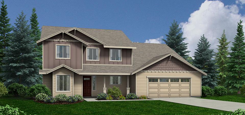 Adair Homes The Ashland 3136 Home Plan