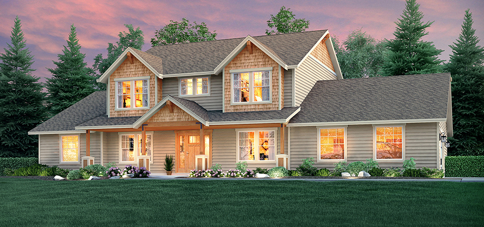 Adair homes the mt rainier 3217 home plan for Adair home plans