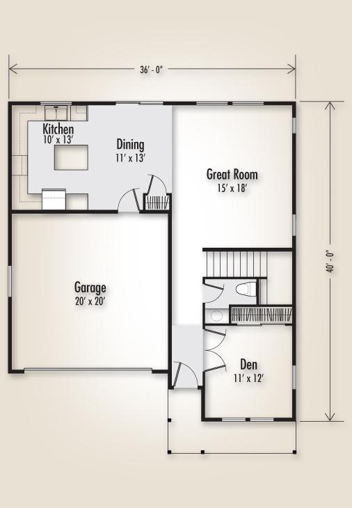 The Columbia 2160 Home Plan Adair Homes