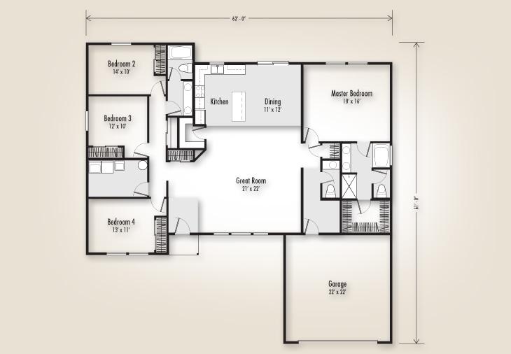 2325 Plan Homes Adair Homes