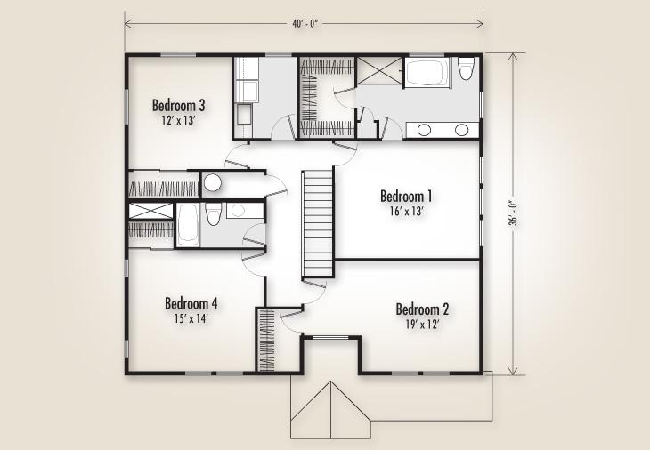 The Marion 2432 Home Plan Adair Homes