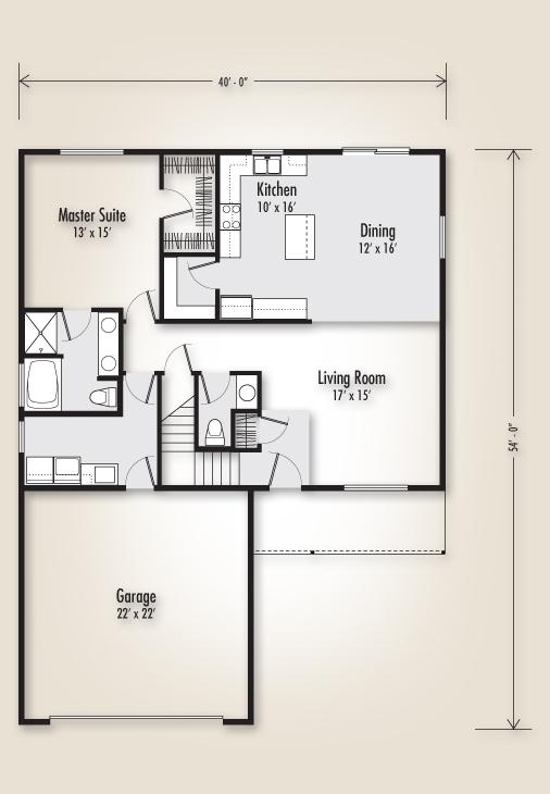 The Creston 2512 Home Plan Adair Homes
