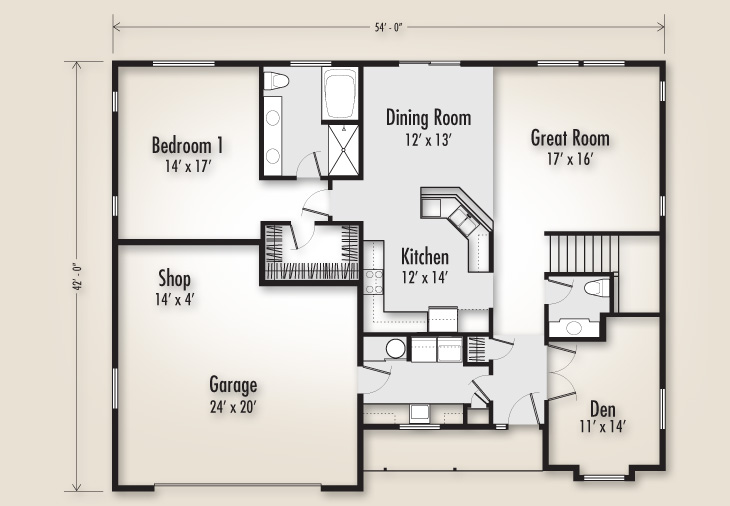 The ashland 3136 home plan adair homes for Adair home plans